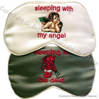 Mary Green メアリーグリーン アイマスク スリプーマスク Sleeping with My Angel/Devil